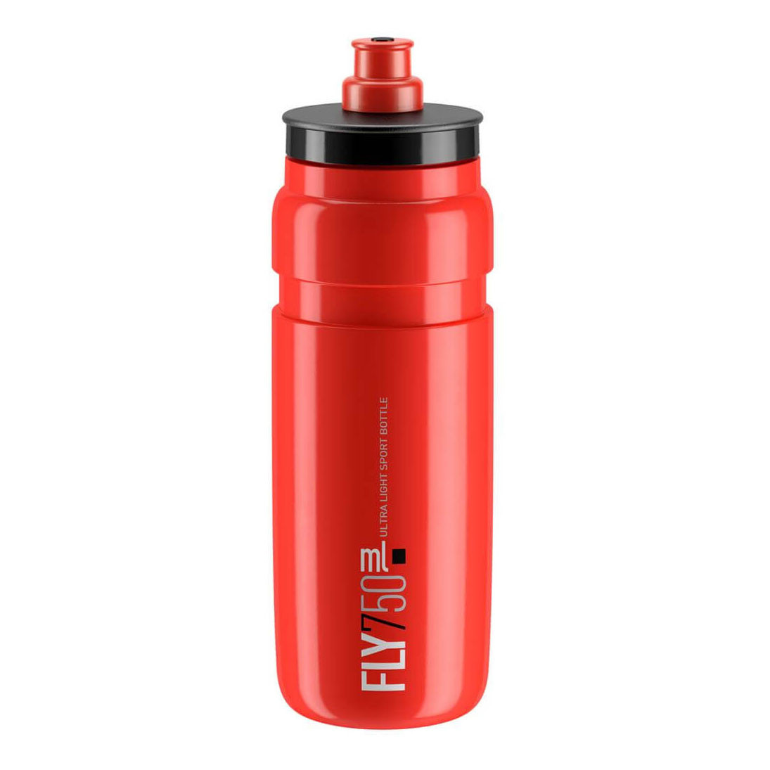 red with black logo Elite Fly 750 ml